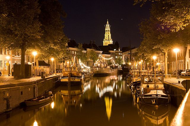 Groningen by night - The Netherlands