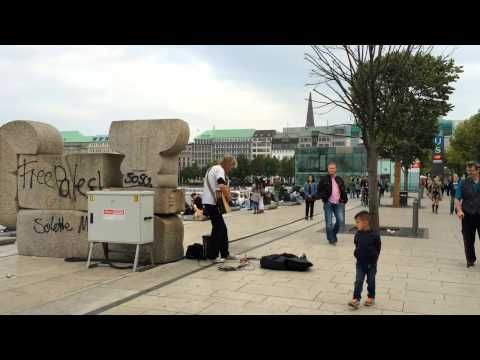 Street Performance Guitar - YouTube