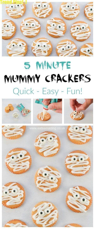 Halloween Mummy Ritz CrackersHalloween