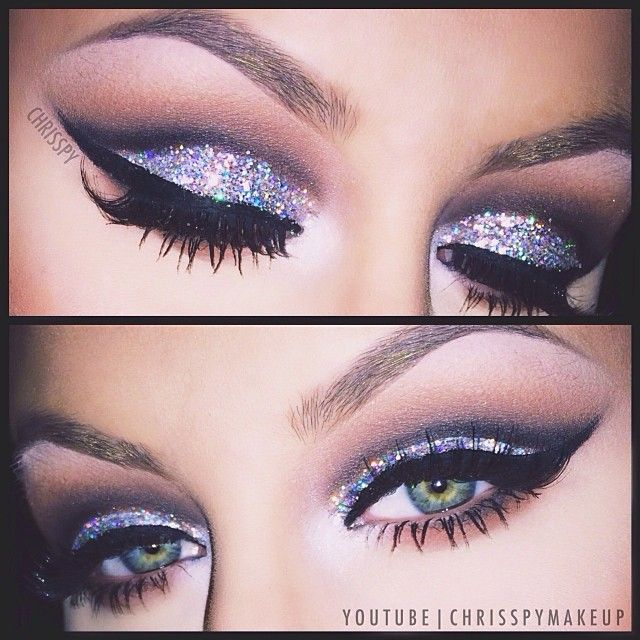 New Year's Eve makeup tutorial YouTube.com/ChrisspyMakeup - @chrisspy- #webstagram