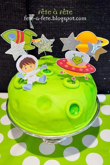 Little Astronaut Birthday Partyby Fête à Fête