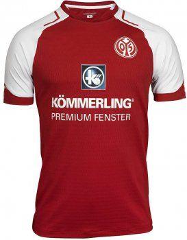 FSV Mainz 05 2017-18 Season Home Red Shirt Jersey [K569]