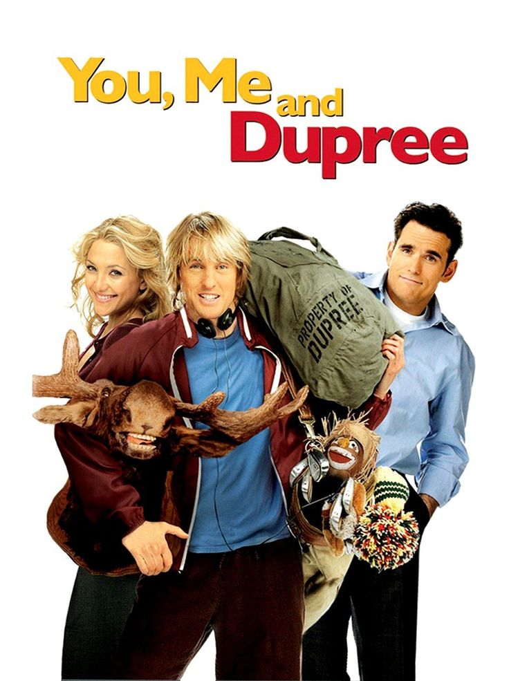 Would you let your hubby's best friend move in with you? You, Me and Dupree!