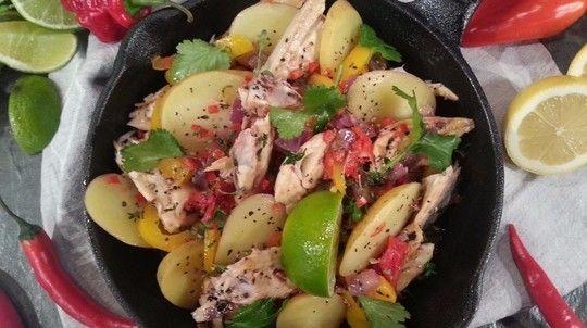 Levi's spicy mackerel hot pot