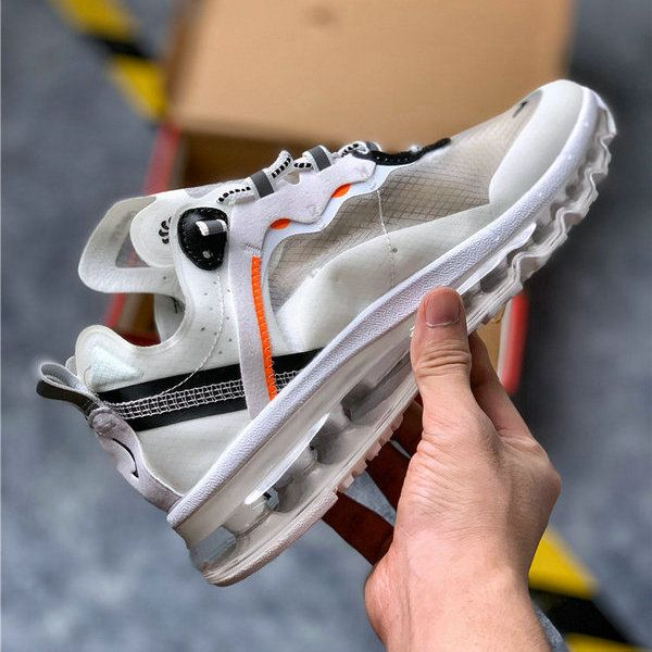 Nike Air Max 2020 in white black running shoes men's ...