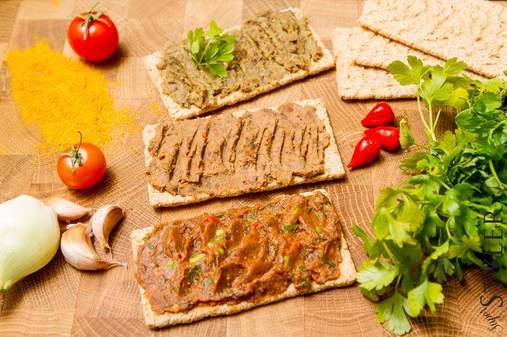 Pasta z soczewicy do chleba – trzy smaki