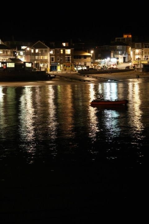 St ives at night