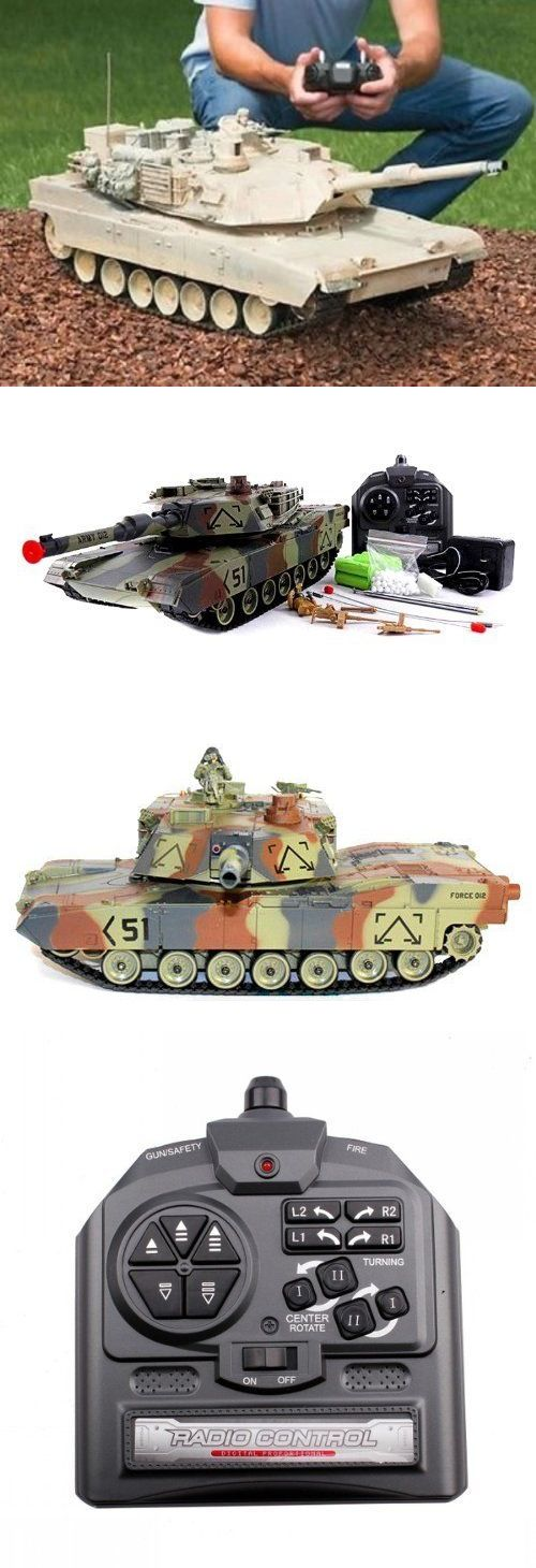 Tanks and Military Vehicles 45986: Rc Tank M1a2 Abrams Usa Airsoft Tank Toy 16 Military Battle Vehicle W Sound New -> BUY IT NOW ONLY: $63.45 on eBay!