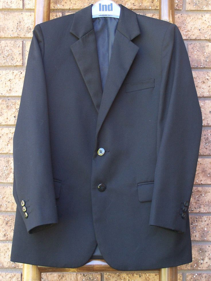 Boys Formal Jacket Fred Bracks Size 10