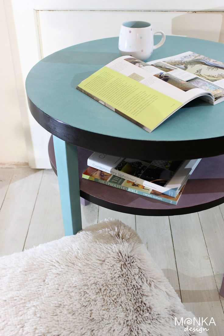 Redesigned end table, Bohemian Style