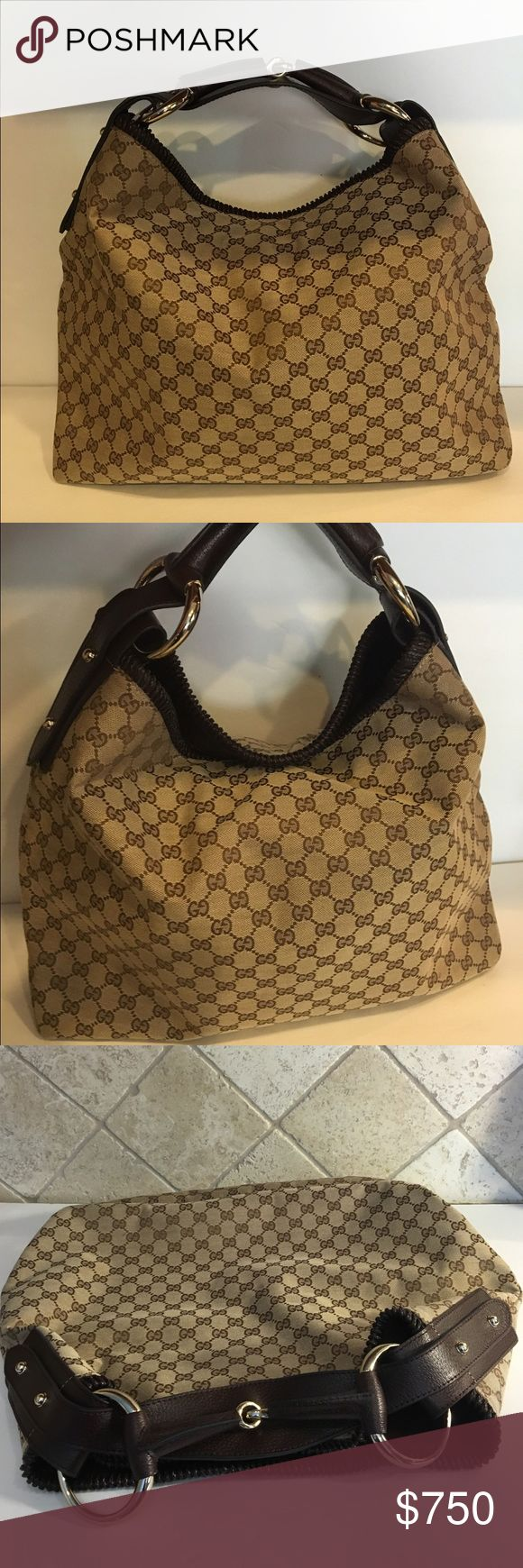 NEW AUTH GUCCI PURSE 100% authentic Cucci purse! New! Never been worn! Large size! Little heavy! No zipper, has a magnet clip! PRICE IS FIRM Gucci Bags Satchels