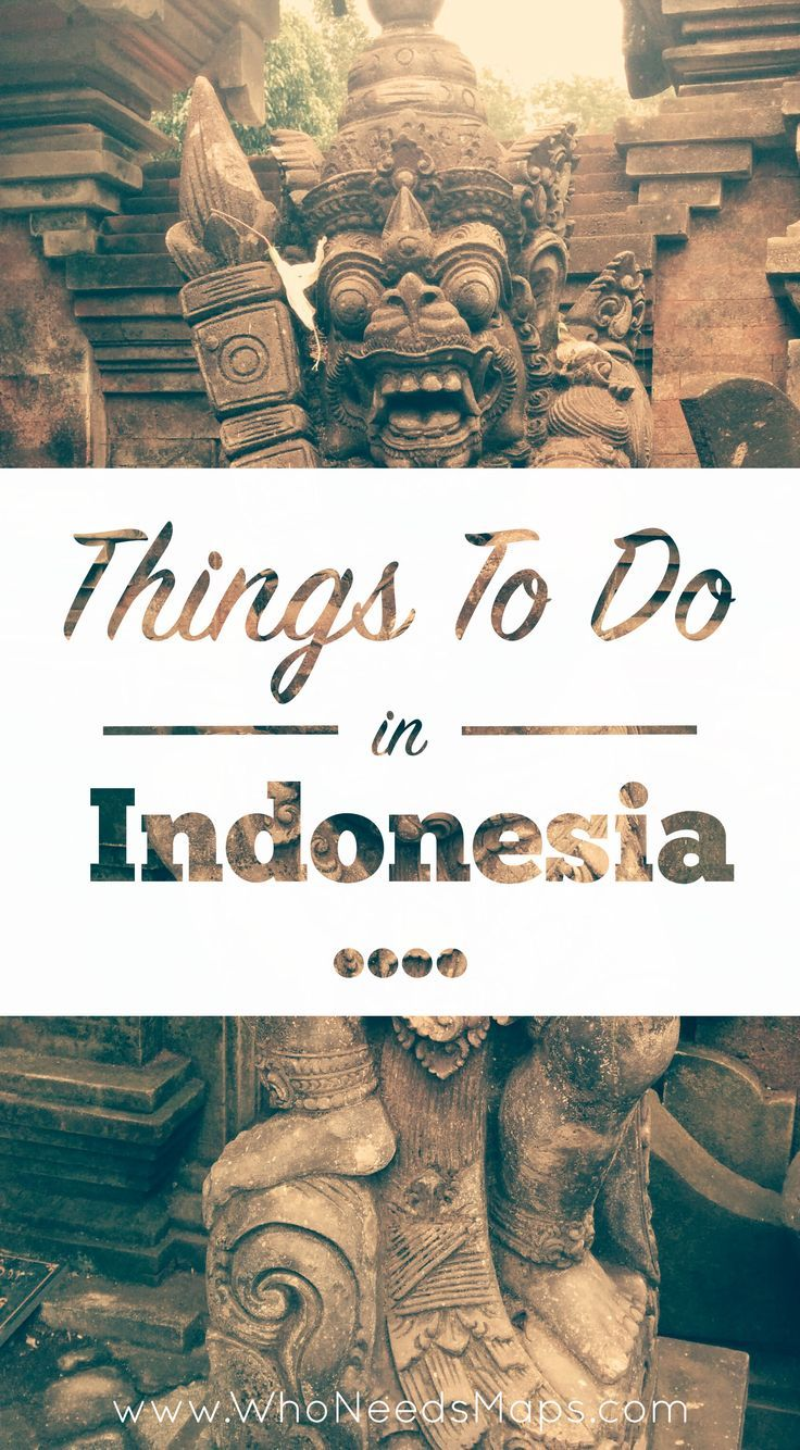 Read all about our trip to Indonesia, plenty to do and see. Not to be missed!  - www.whoneedsmaps....