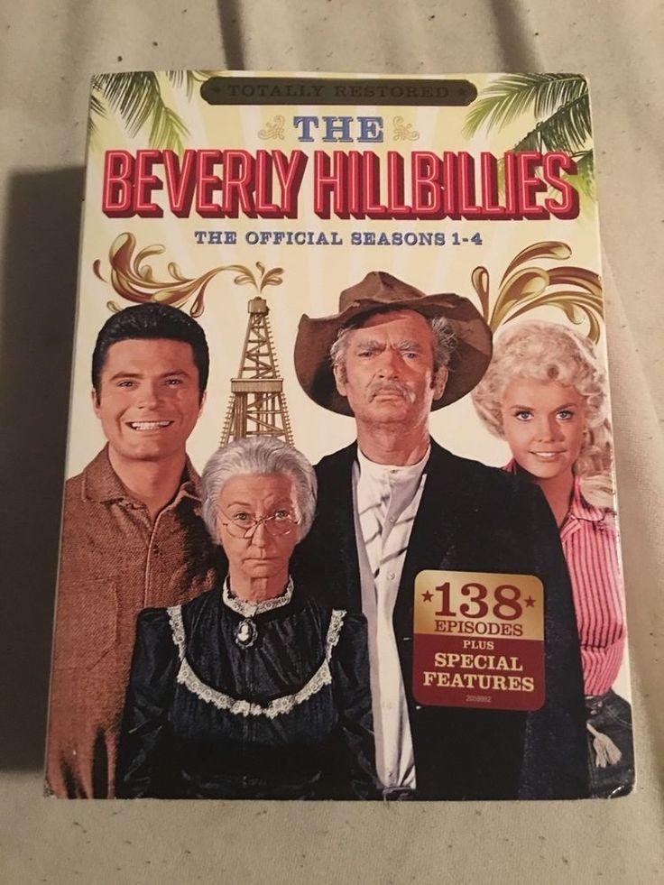 BEVERLY HILLBILLIES TV SHOW SEASONS 1 - 4 OFFICIAL DVD SERIES, 19 DISC SET, NEW