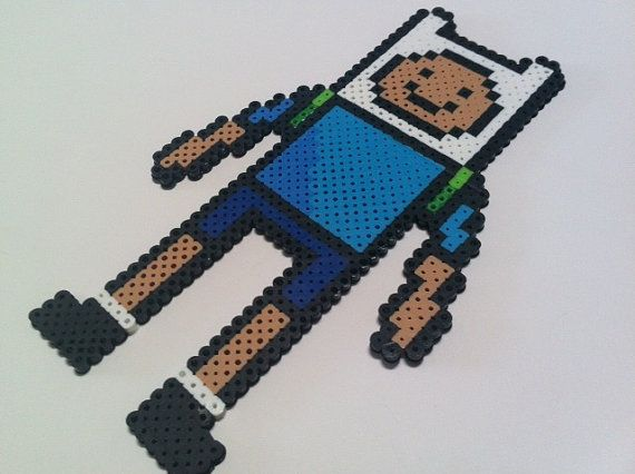 Finn from Adventure Time {we just sold one of these cuties} OutOfTheParkArt on Etsy.com: Scrapbook Obsession
