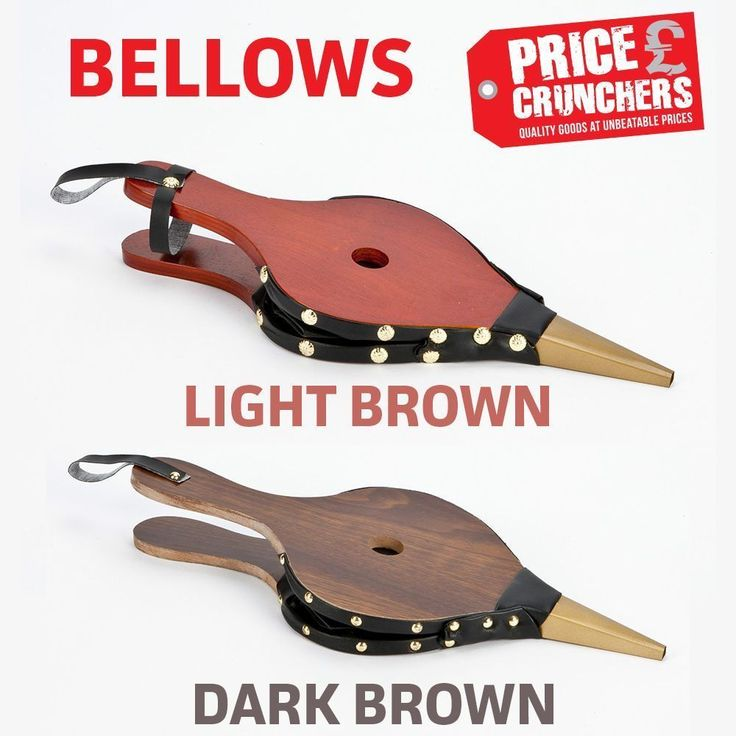Fireside Fire Bellows Camping BBQ Fireplace Wood Burner Stove Lighter or Tongs #Inglenook