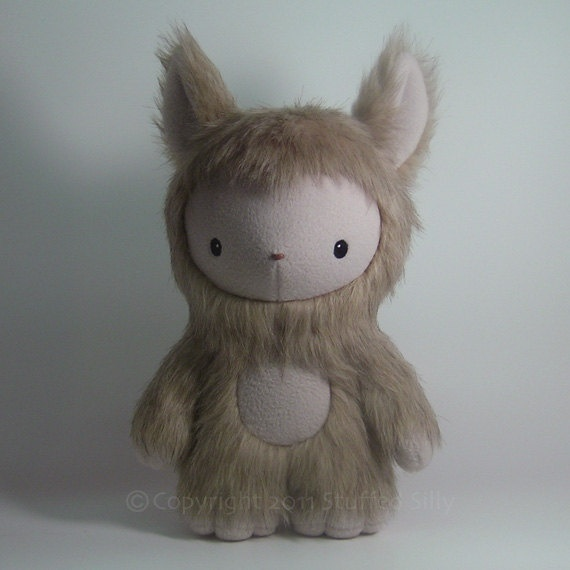Cute Plush Monster Freya, Limited Edition Stuffed Animal Toy, Forest of Fru Series * stuffedsilly