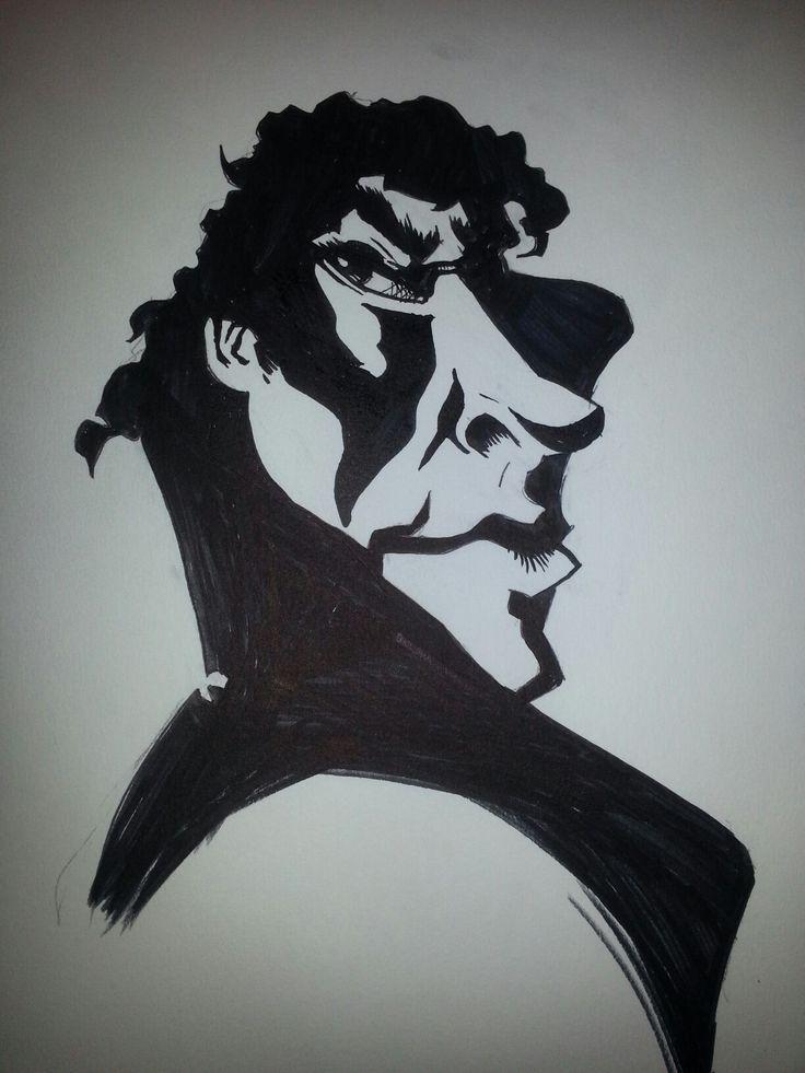 Caricature - Sherlock - Benedict Cumberbatch