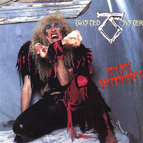 """USED VINYL RECORD 12 inch 33 rpm vinyl LP Released in 1984, Atlantic Records, (80156) Stay Hungry is the third album by American heavy metal band Twisted Sister. Twisted Sister performed the song """"""""Bu"""