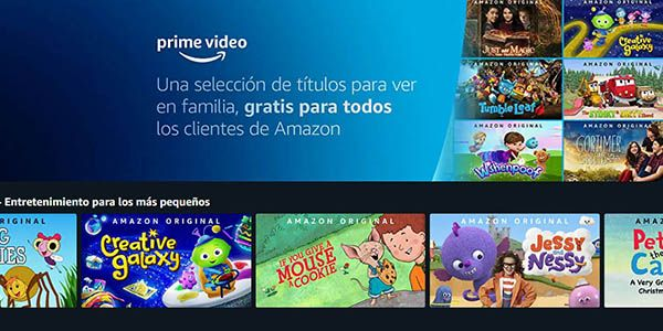 Selección De Películas Y Series Infantiles Gratis Con Amazon Prime Vídeo Series Infantiles Peliculas Infantiles Gratis Peliculas Gratis Para Niños