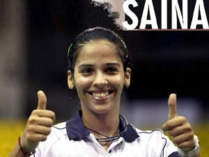 Saina Nehwal. Saina signs up 40 crore deal