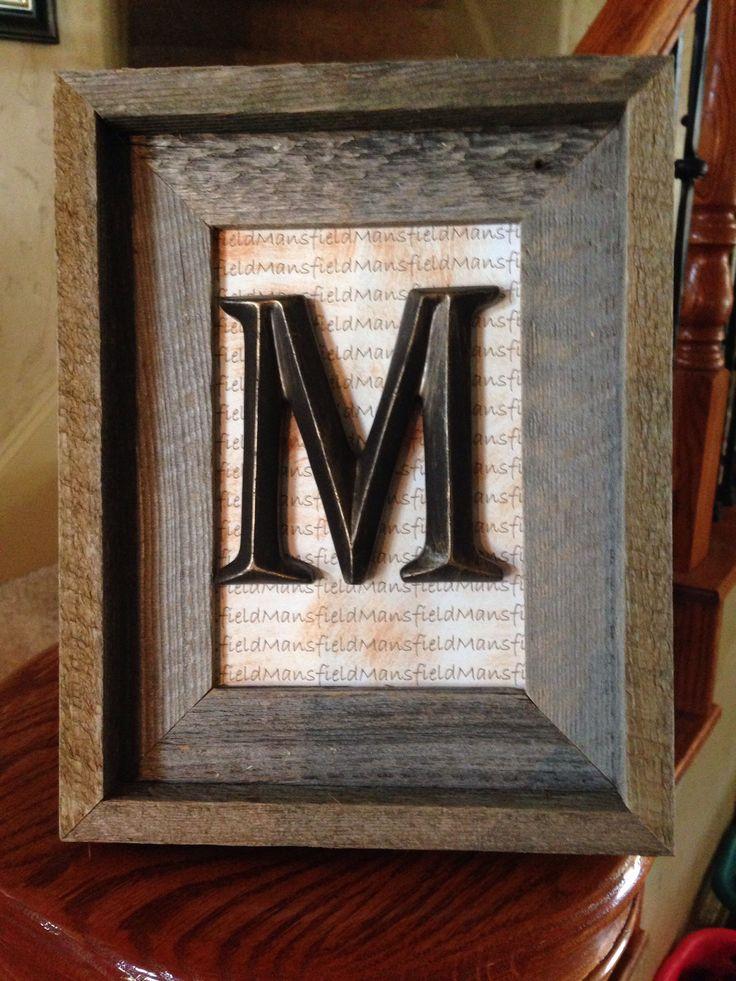 last name printed glass removed from frame letter via hobby lobby hot - Wire Wreath Frame Hobby Lobby