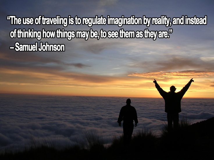 the use of traveling......