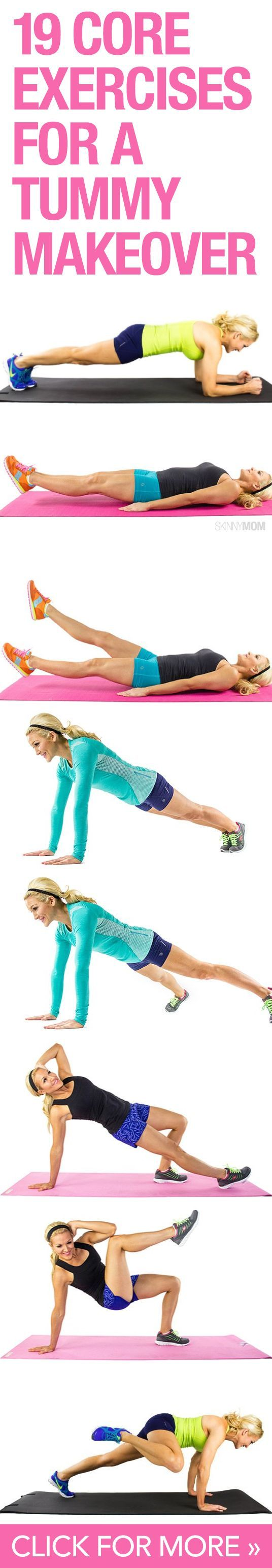 Core exercise ideas