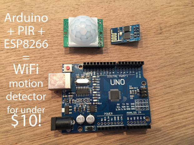 Arduino Uno Motion Sensor Project: First steps with the