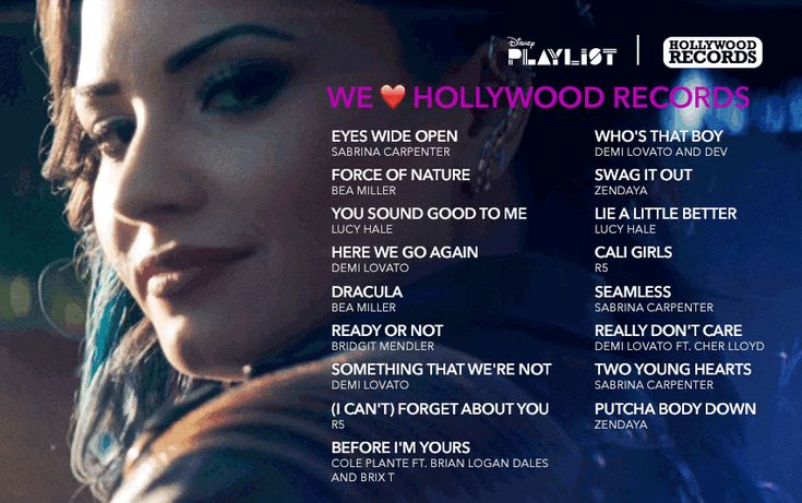 The Hollywood Records Playlist Every Lovatic Needs To See