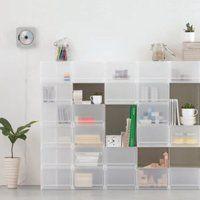 シンプルで機能的!無印のPPケースを使って快適な部屋作りを*