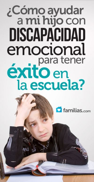 Si tu hijo tiene discapacidad emocional, estas sugerencias pueden serte útiles para ayudarlo a superar las dificultades académicas en el hogar y en la...