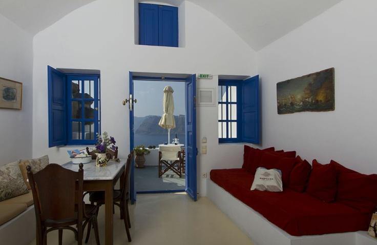 the light of Santorini