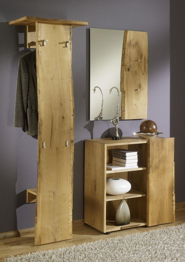 die besten 25 garderobe eiche ideen auf pinterest. Black Bedroom Furniture Sets. Home Design Ideas