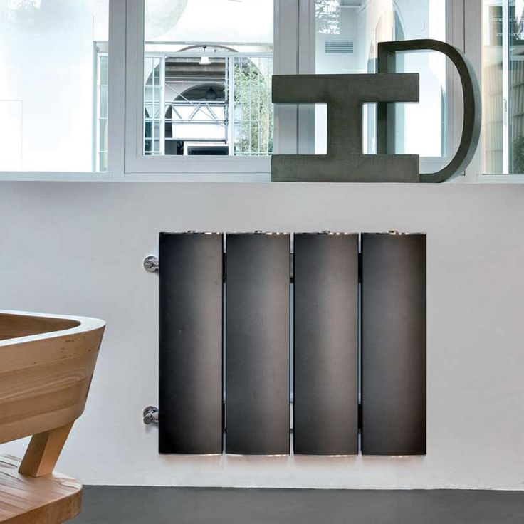 Othello Double Plate The characteristics and the strong points of Othello Plate are doubled, making for thermal yields twice as high, while the depth of the elements is only 15cm. #home #radiator #design #aluminum #interiordesign
