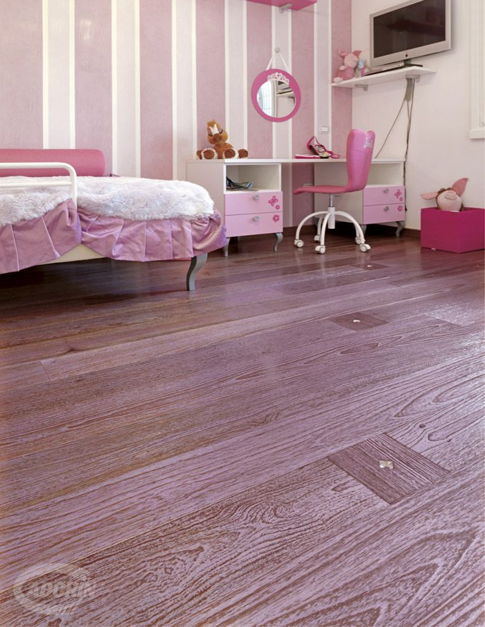 Teak Burma / Wooden floors - Brushed White Gold Dust and Lilac Mother of Pearl with Swarovsky insert / Pavimenti in legno - Spazzolato Polvere Oro Bianco e Madreperla con inserti Swarovsky