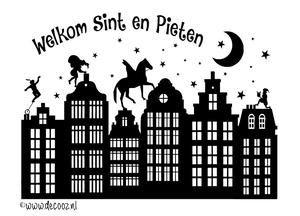 <mark>Sinterklaas</mark> raamsticker