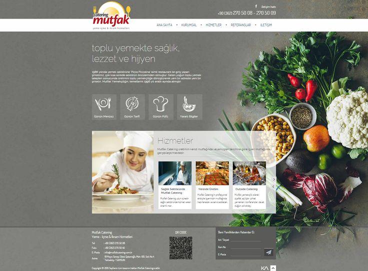 Mutfak Catering Yeme - İçme & İkram Hizmetleri   Web Design