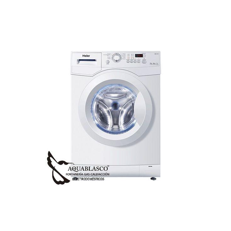 www.aquablasco.com y Haier España, te presentan una lavadora con precio contenido y tecnologia avanzada, pincha y veras, te sorprendera !
