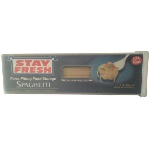 Stay Fresh 7063 Polypropylene Pasta Container, Rectangle, Clear