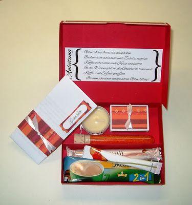 geburtstag in der box stempelfapi paket box geschenk pinterest schachteln. Black Bedroom Furniture Sets. Home Design Ideas