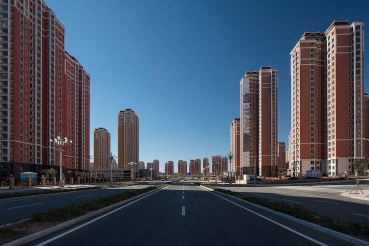 Intriguing Ghost Town in China – Fubiz Media