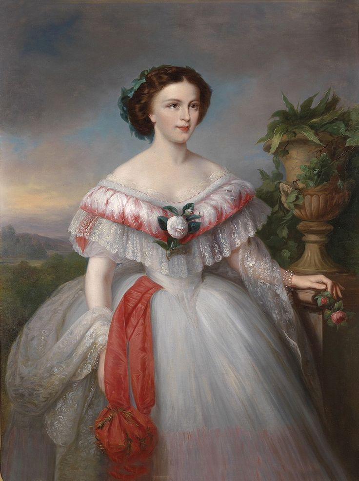 принцесса Елизавета, Сиси. Герцогиня Амалия Евгения Елизавета Баварская (нем…
