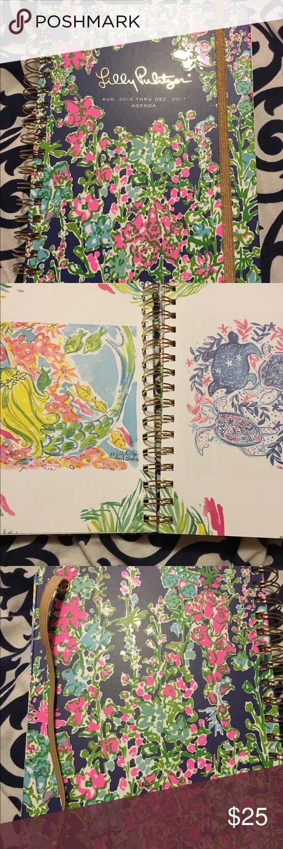 "Lily Pulitzer agenda New large lily agenda in ""southern charm"" never used Lilly Pulitzer Accessories"