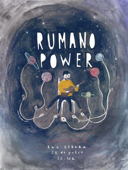 Rumano Power singer