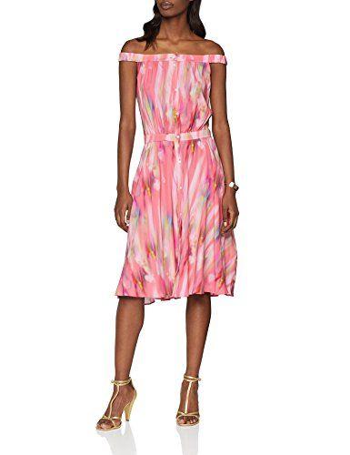 Calypso Kleid 18efp orange Large Damen Cacharel Rosa ZAX17pwnq