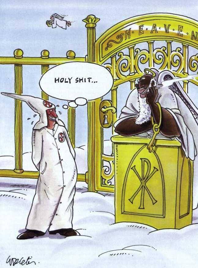 KKK Nightmare <b>Jokes</b>, <b>humor</b>, <b>fun</b> pages, <b>funny pictures</b>, free cartoons