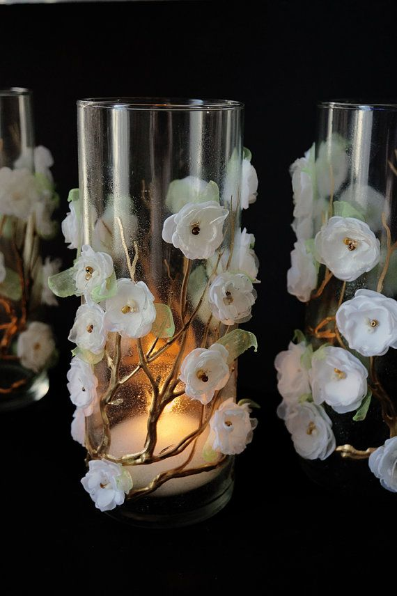 Wedding  Candle Holder   Bridal Shower  Decoration Ceremony