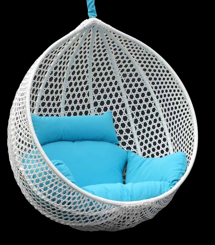 Hanging Chair. But Itu0027s A Bit Too White And Blue. Maybe Different