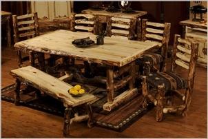 'Beartooth Pass' Aspen Dining Set -   My dream dining table