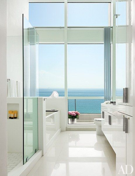 White Bathroom Design Ideas Photos | Architectural Digest